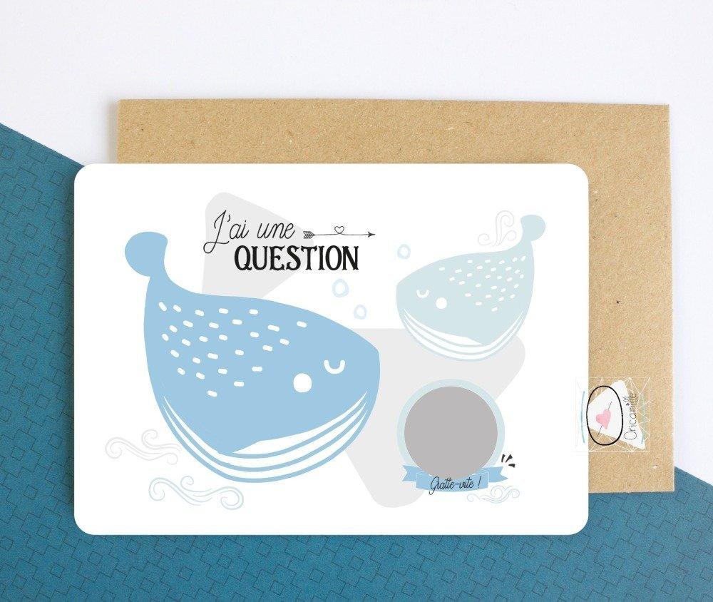 Demande parrain - Carte à gratter