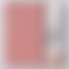 Shibori yuzen 15x15cm  11 motifs 32 feuilles