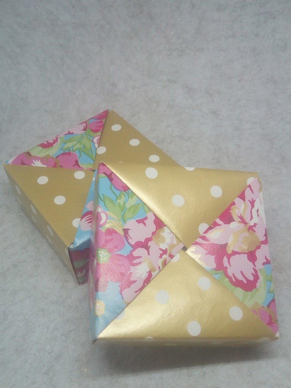 Boîte cadeau en Origami (BOI_011)