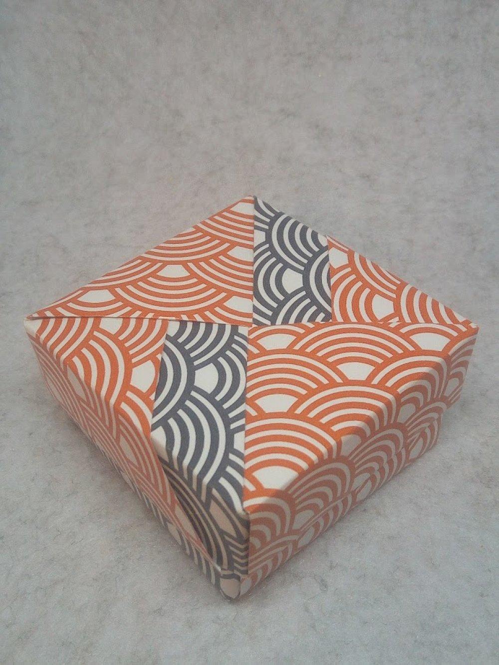Boîte cadeau en Origami (BOI_015)
