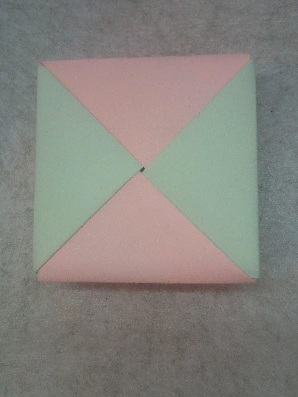 Boîte cadeau en Origami (BOI_001)