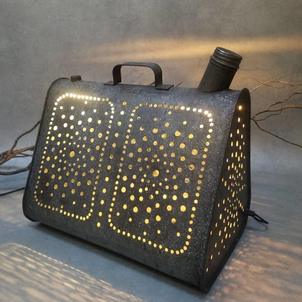 Lampe Bidon vintage