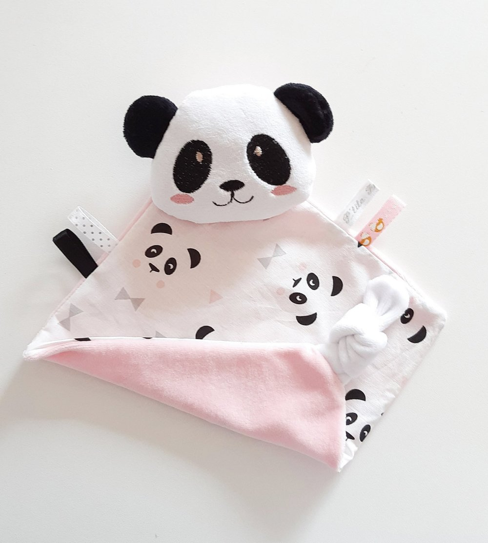 Doudou panda au choix