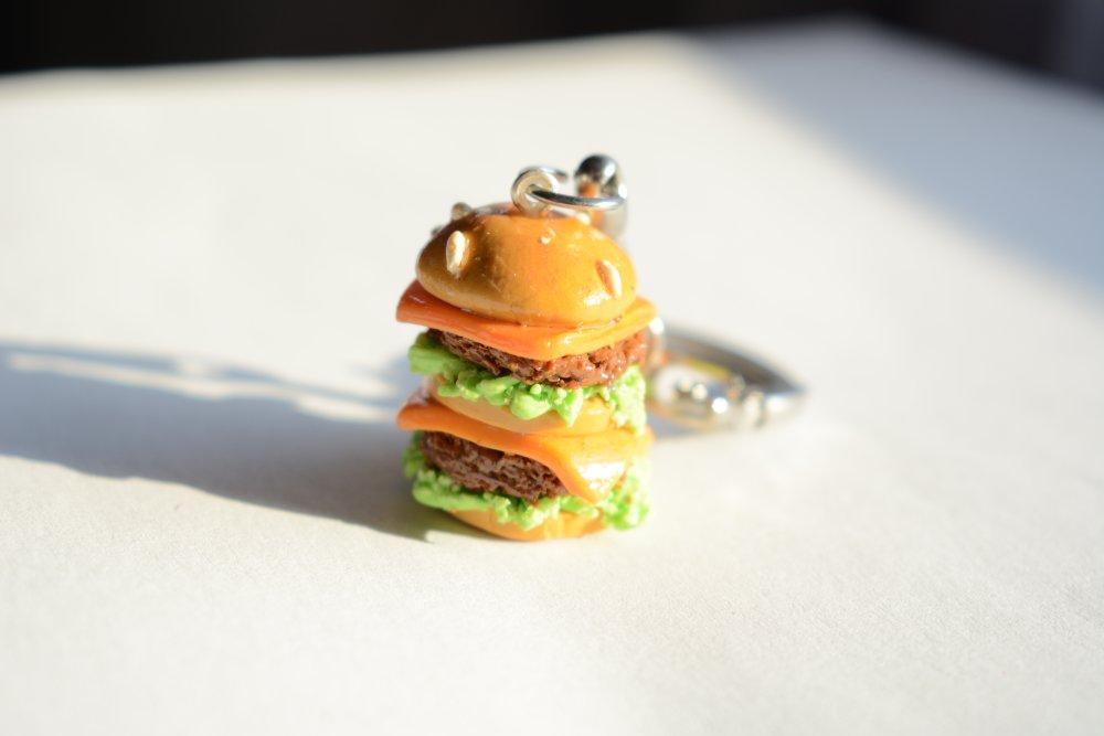 Porte clé hamburger