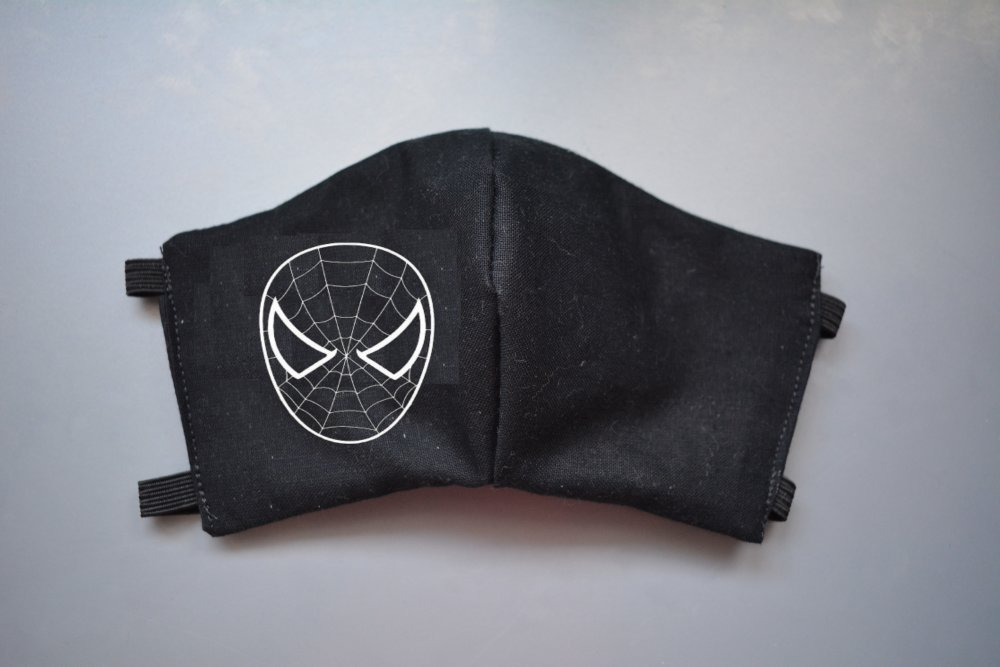 Masque de protection Spiderman enfant 3 - 6 ans