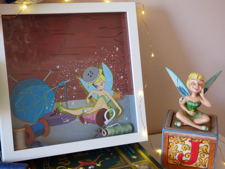 Cadre-vitrine Disney Fée Clochette