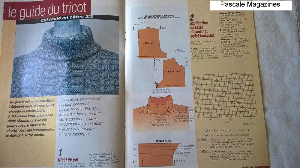 Tricot Sélection n°278 juillet-août 2001      -  Livraison offerte  -