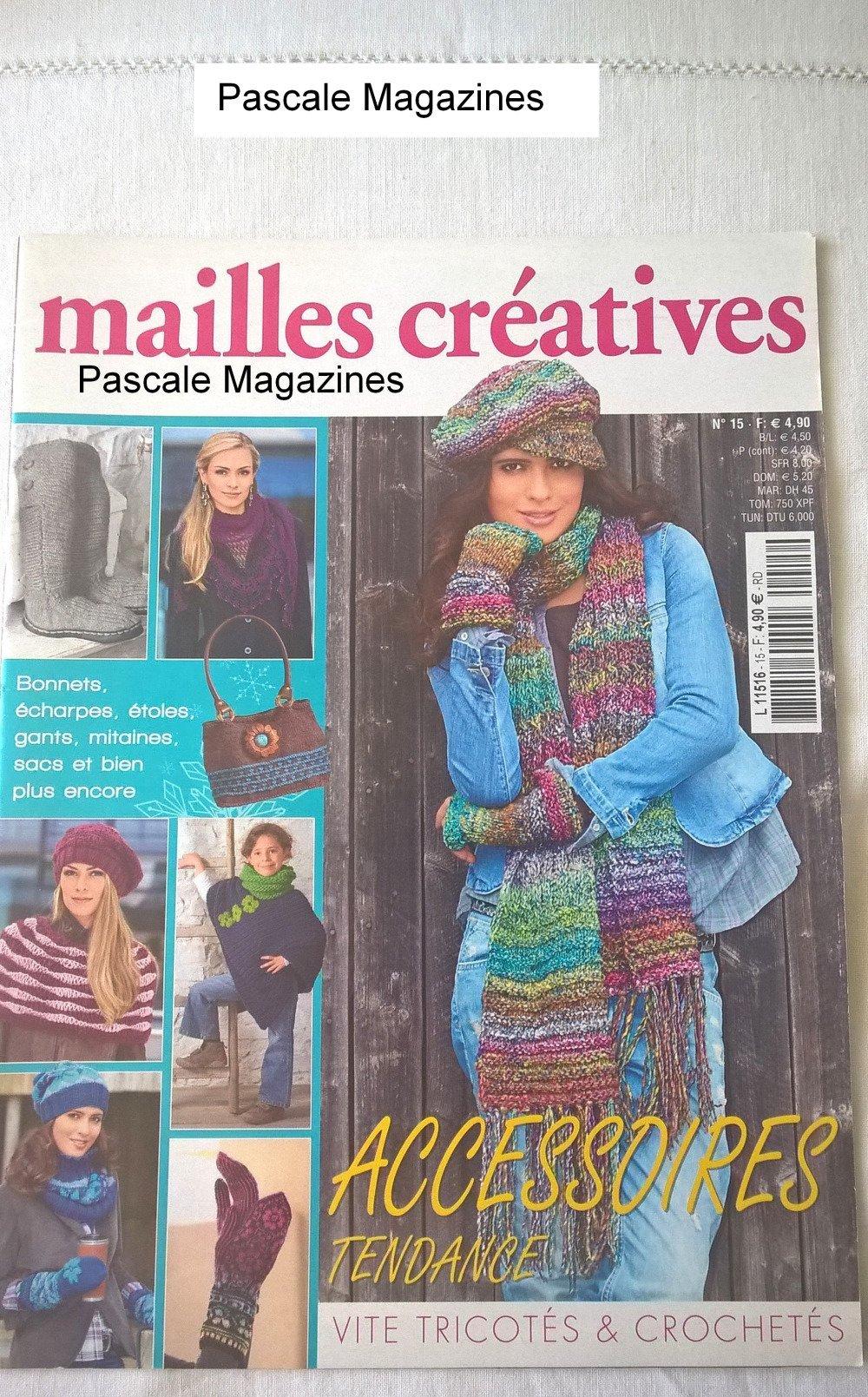 Mailles créatives n°15 -  Livraison offerte  -