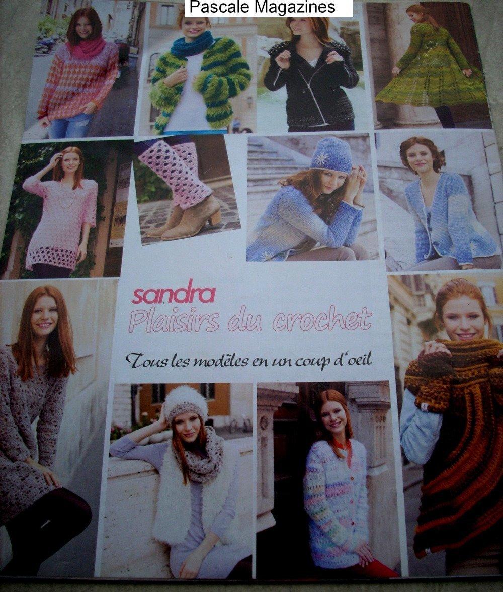magazine  Sandra plaisirs du crochet n°8 -  Livraison offerte  -