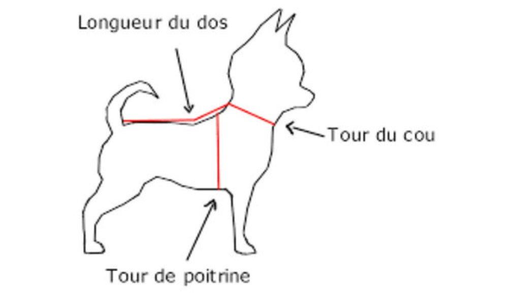 Pull chien sur mesure taille XS-S-M-L-XL [418]