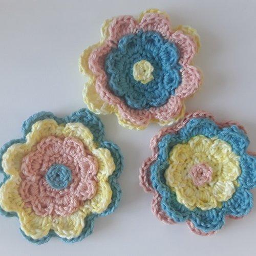 Fleurs au crochet    5