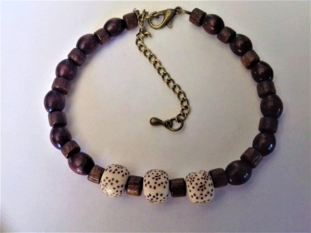Bracelet perles pour homme