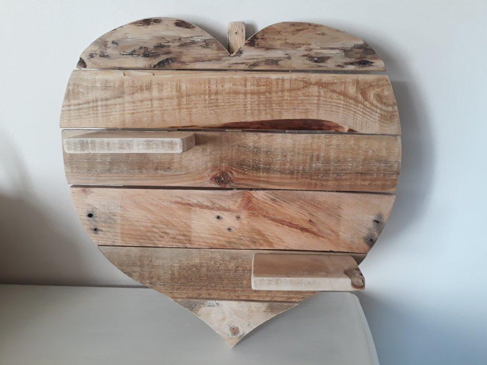 coeur bois de palette