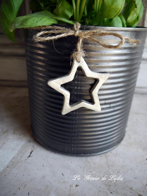 Porte-plantes, porte-ustensiles décor indus