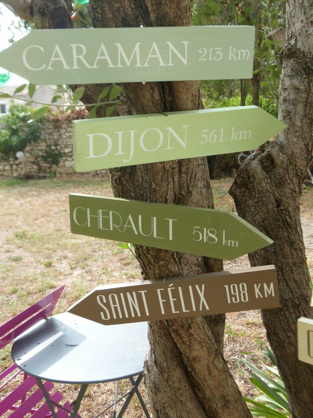 Cadeau Noel. Panneaux directionnels en  bois personnalisable .Flèches directionnelles pour jardin, mariage ou intérieur