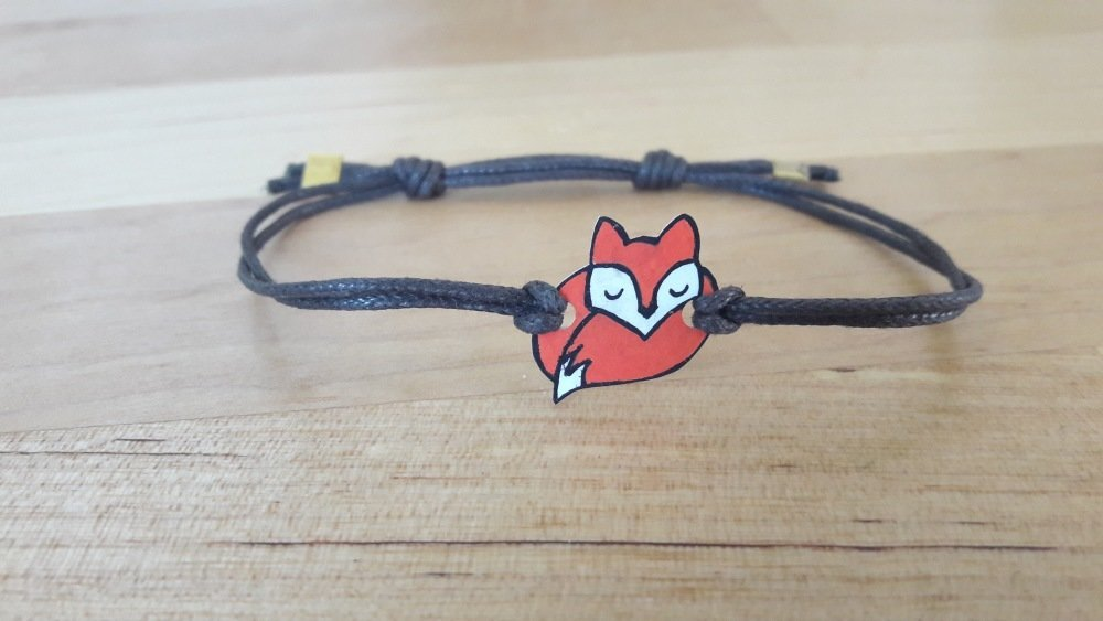 Bracelet renard