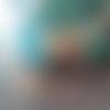 X2 pendentifs goutte estampe filigrane - couleur or, doré - 35mm x 22mm - fleurs