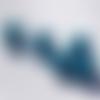 Lot 25 perles magiques - 8mm - bleu turquoise