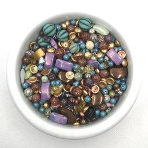 100 perles Nacrées 4mm Blanc Ivoire verre de Bohème