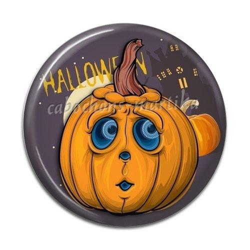 Cabochon halloween, 25 mm résine