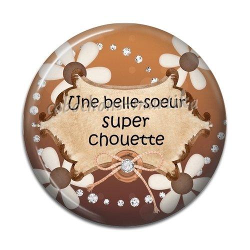 Cabochon résine belle-soeur 25 mm