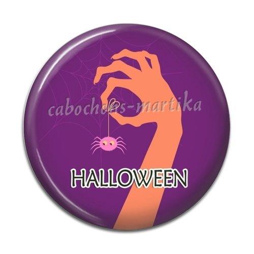 Cabochon halloween, résine ou verre, plusieurs tailles