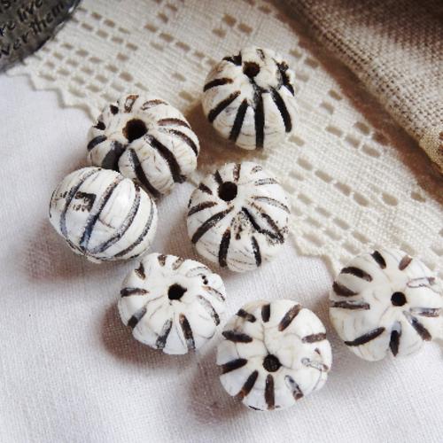 Lot 7 perles conque - haut de gamme