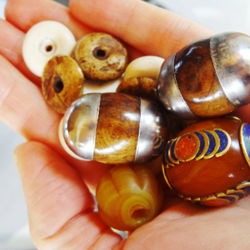 Lot perles varié