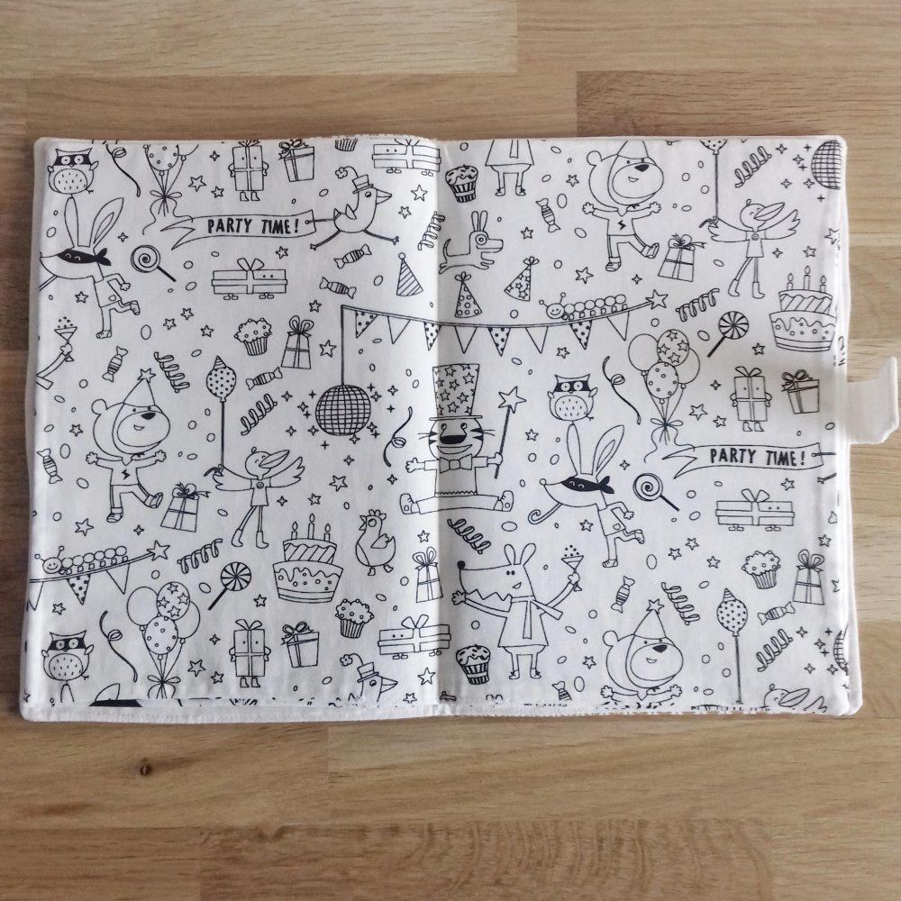 Cahier de coloriage lavable étoiles
