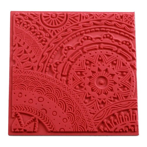 Plaque de texture stars pour pate fimo, sculpey cernit ce95017