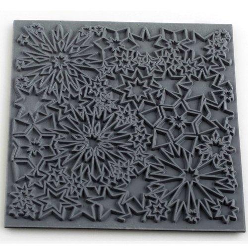 Plaque de texture constellation pour pate fimo, sculpey cernit ce95026