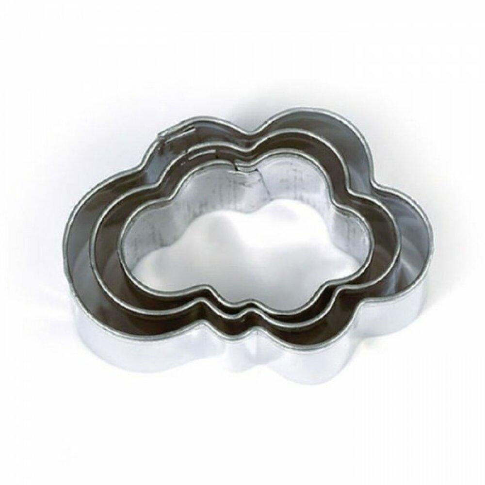 Lot de 3 Mini Emporte-pièces métal Nuage DTM 265063