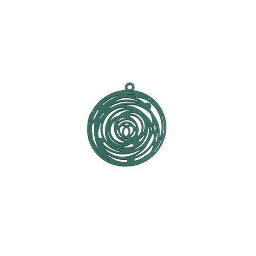 Ps110206565 pax 5 estampes pendentif filigrane rosace de 29mm