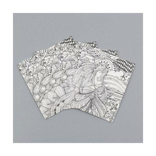 S1101130555 pax 25 cartes de présentation carre pour boucles d'oreilles fantasia