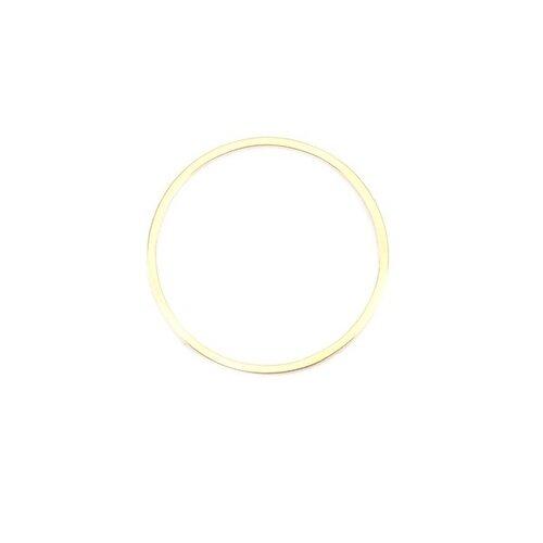 Ps110201188 pax 5 pendentifs connecteurs rond 20 mm doré en acier inoxydable 304 pour bijoux raffinés