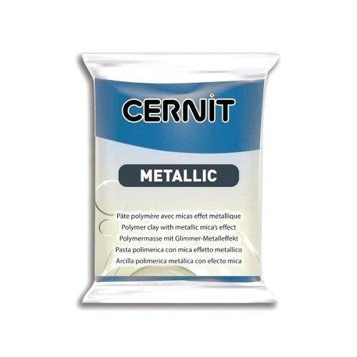 1 pain 56g pate cernit metallic bleu ce0870056200
