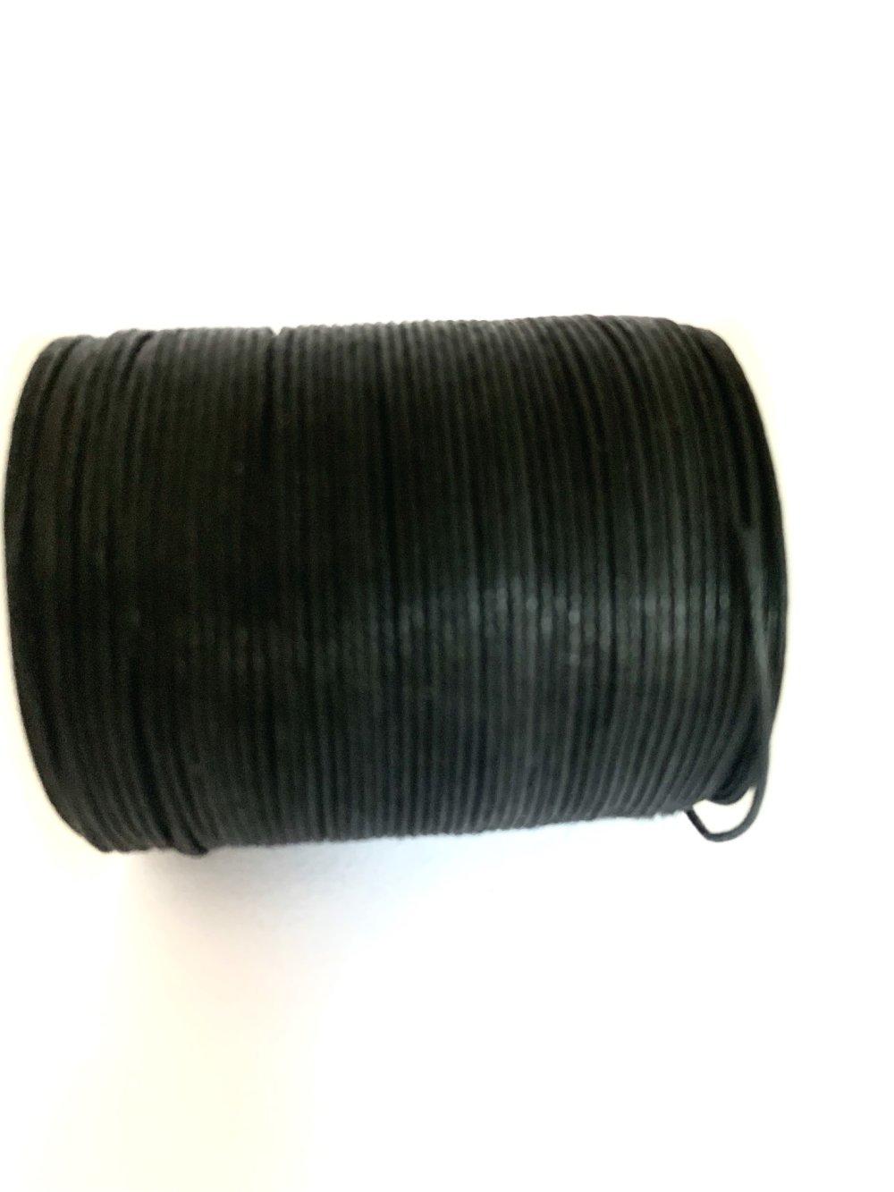 Fils coton noir 0,7mm