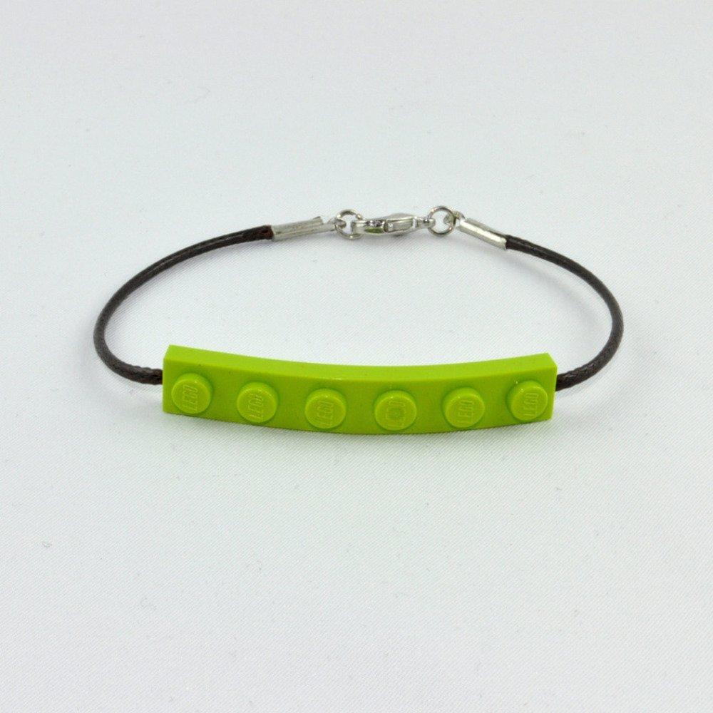 Bracelet Adulte Brique Lego Vert Anis