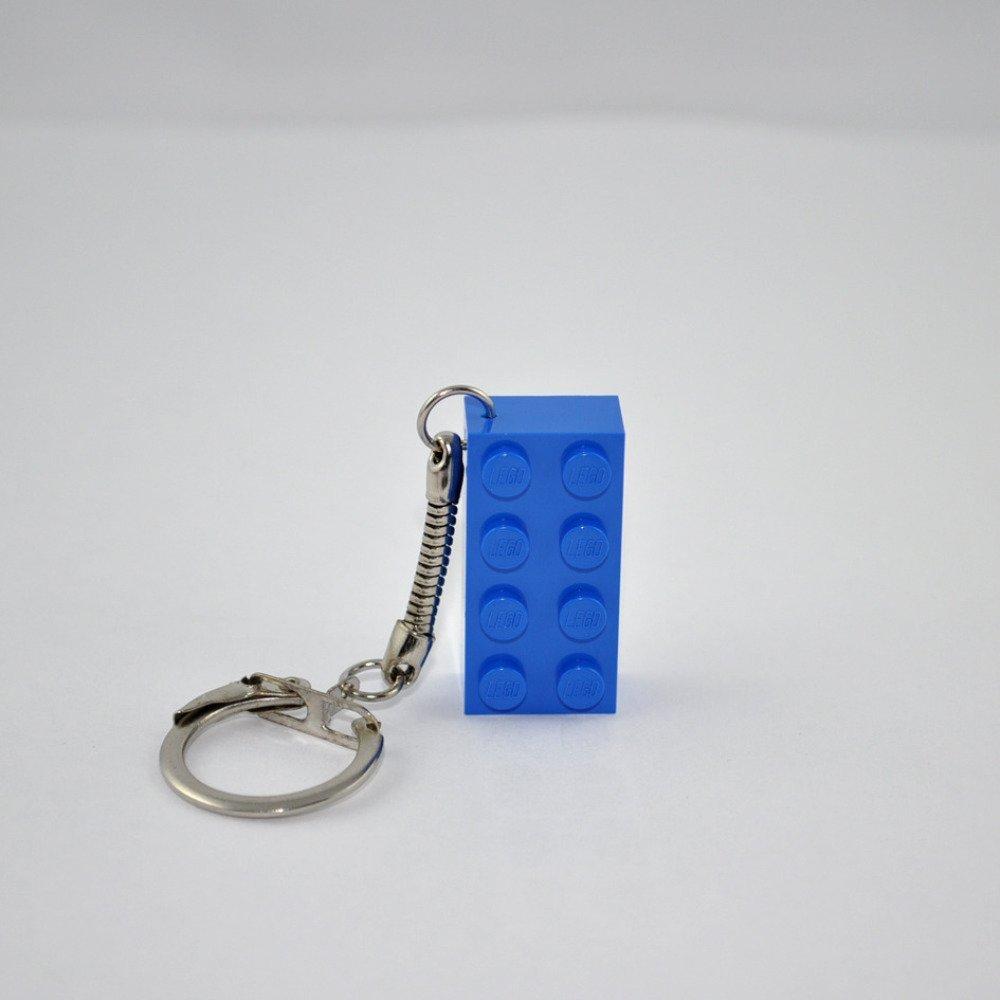 Porte-Clés Brique Lego Bleu Foncé