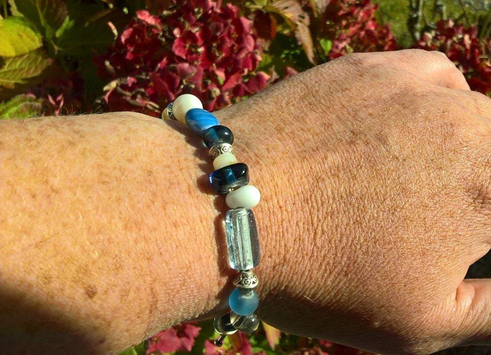 """bracelet """"un été à la mer"""""""