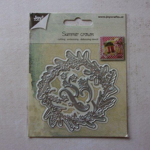Die cuts découpe matrice en métal joy crafts scrapbooking couronne nature branche feuillage blé