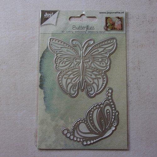 Die cuts découpe matrice en métal joy crafts scrapbooking papillons