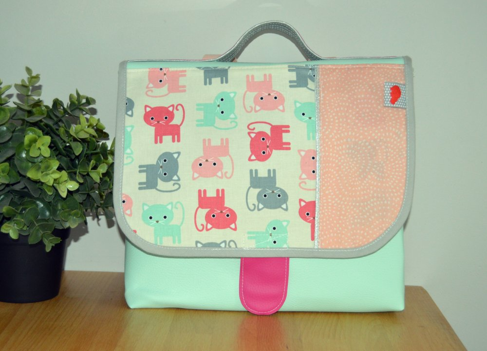 Cartable maternelle Petits Chats