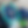 Bracelet turquoise en perles heishi