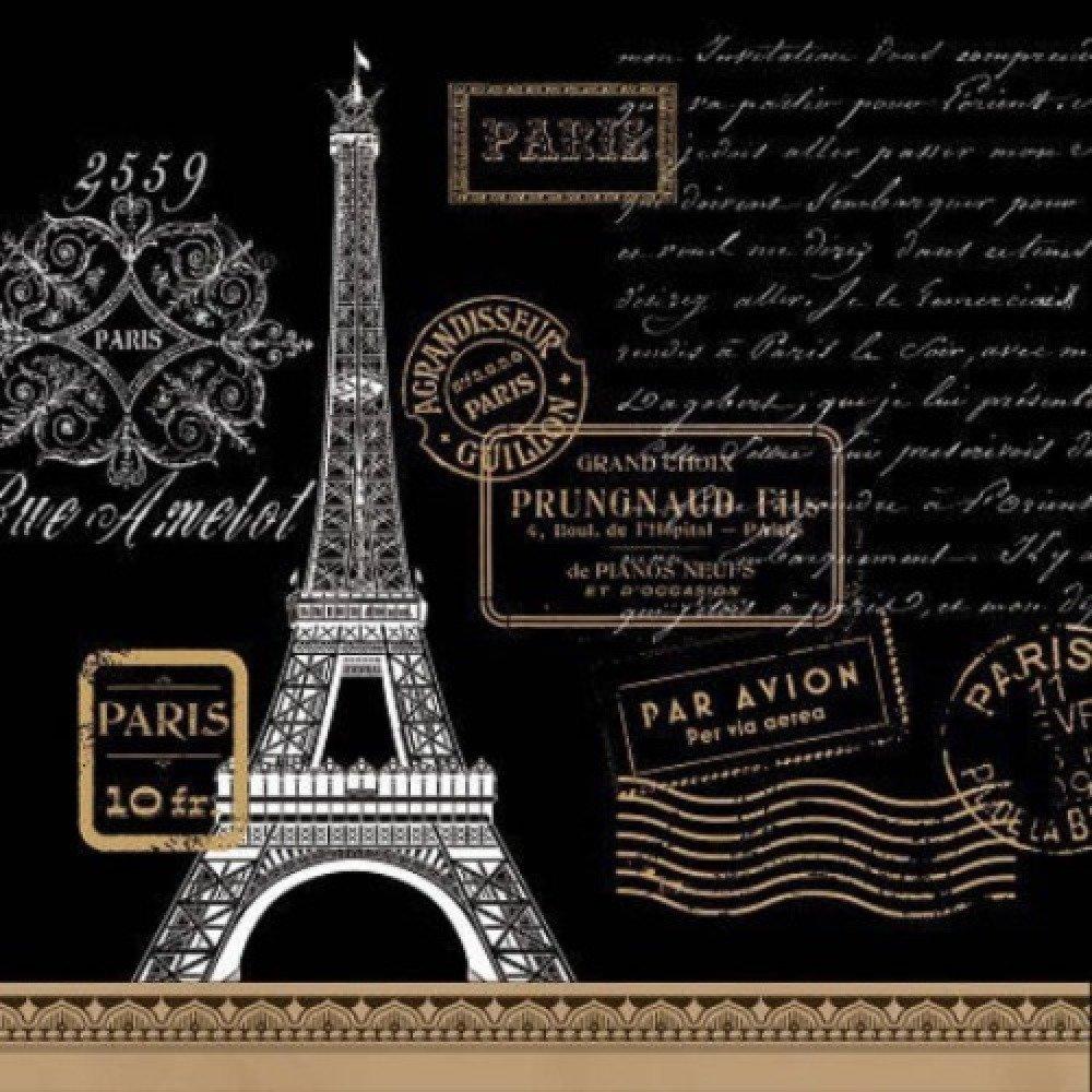 1 SERVIETTE EN PAPIER PARIS - TOUR EIFFEL - REF 1098