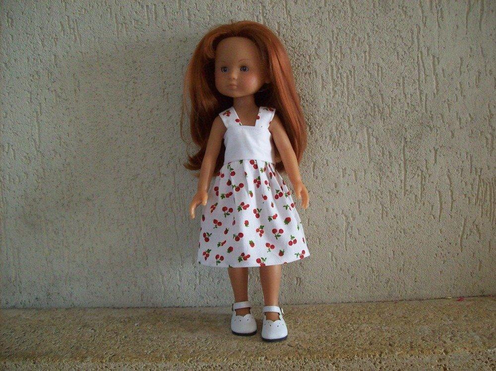 vêtement pour poupées de 32/33 cm compatible avec les chéries ou paola reina : robe