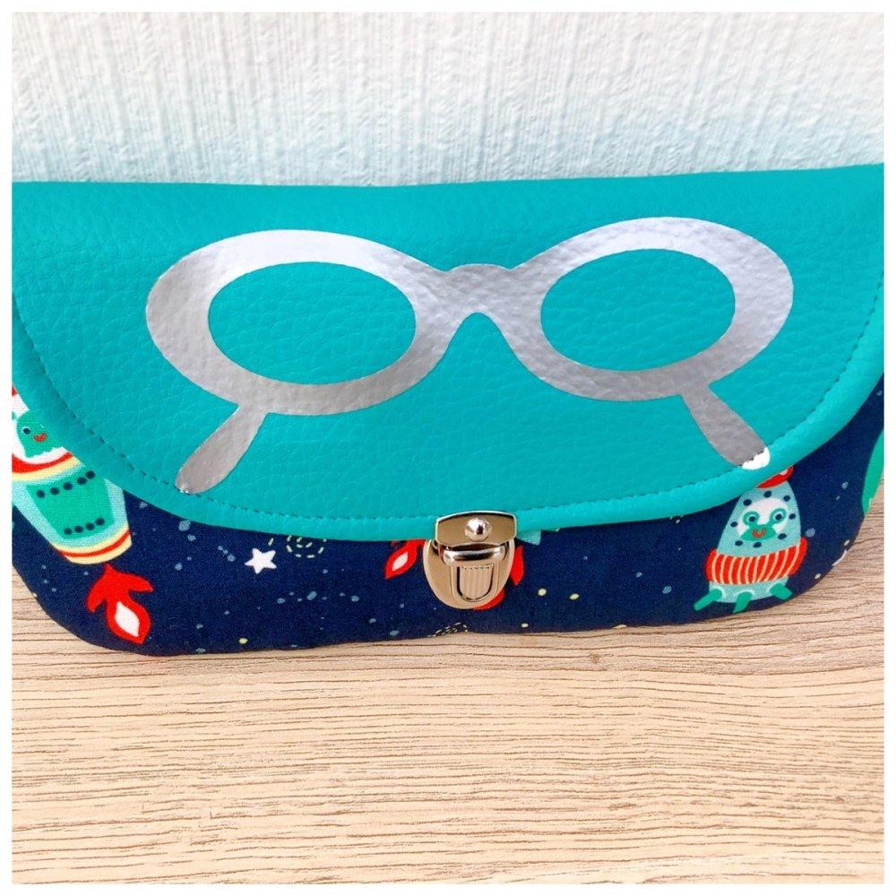 Étui à lunettes enfant à personnalisé
