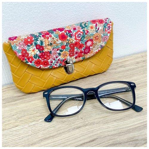 Étui à lunettes femme
