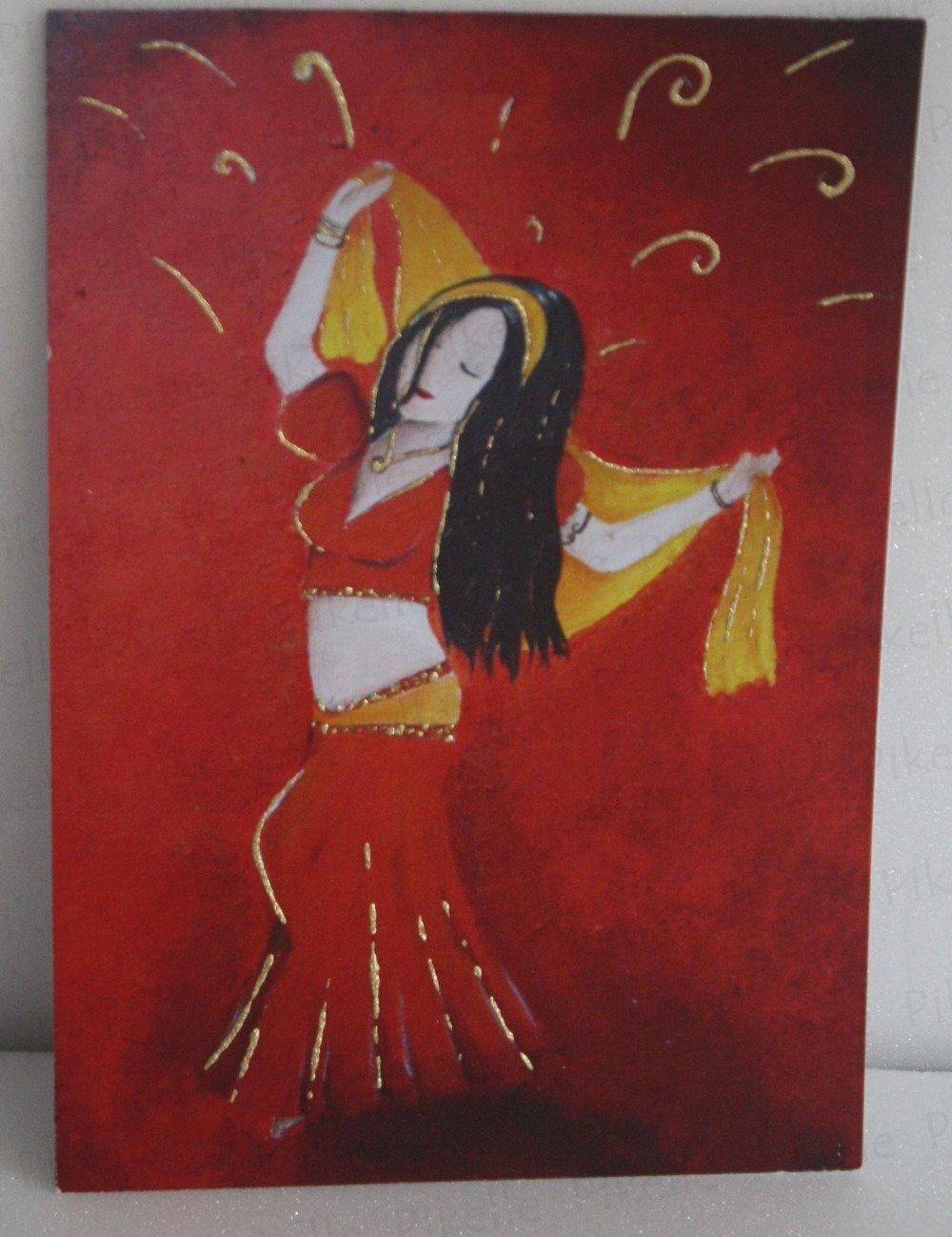 Carte danseuse Almarita