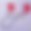 Charms esquimau rouge